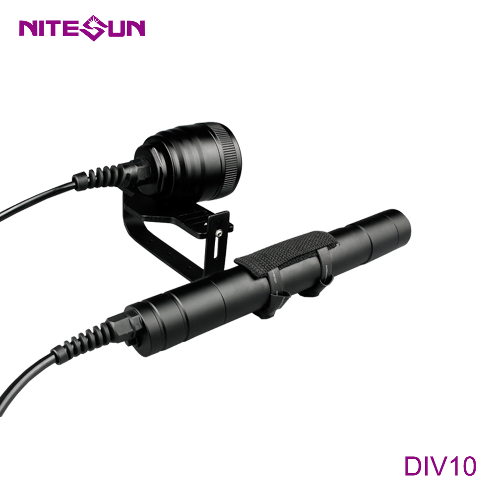 NITESUN DIV10 Scuba Diving Flashlight