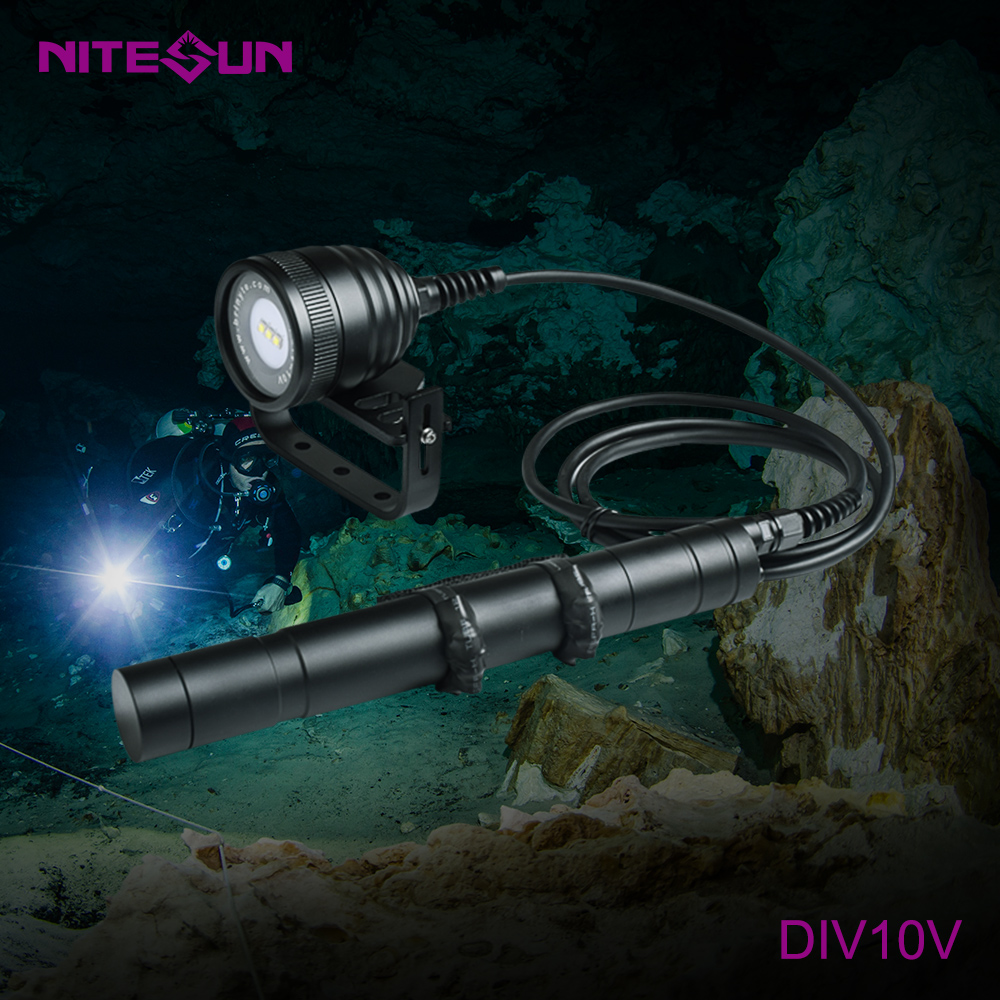 NITESUN DIV10V Diving Video Light