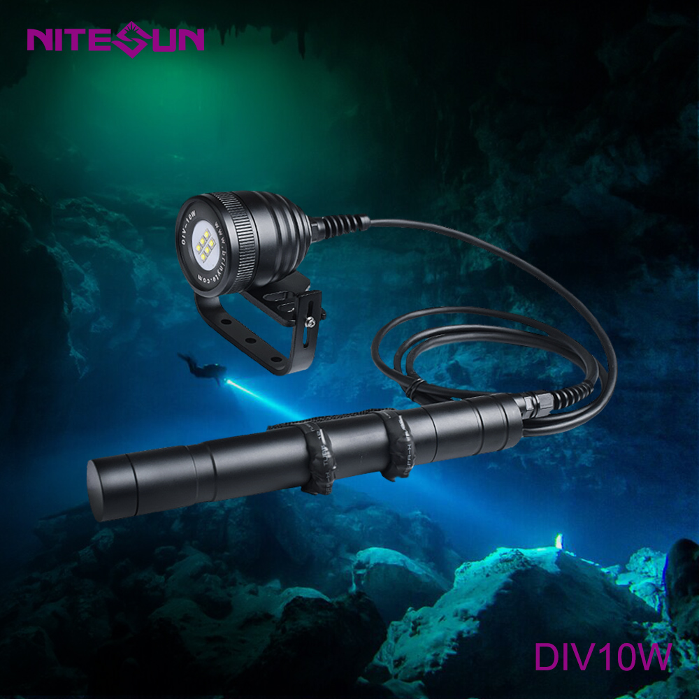 NITESUN DIV10W Diving Video Light