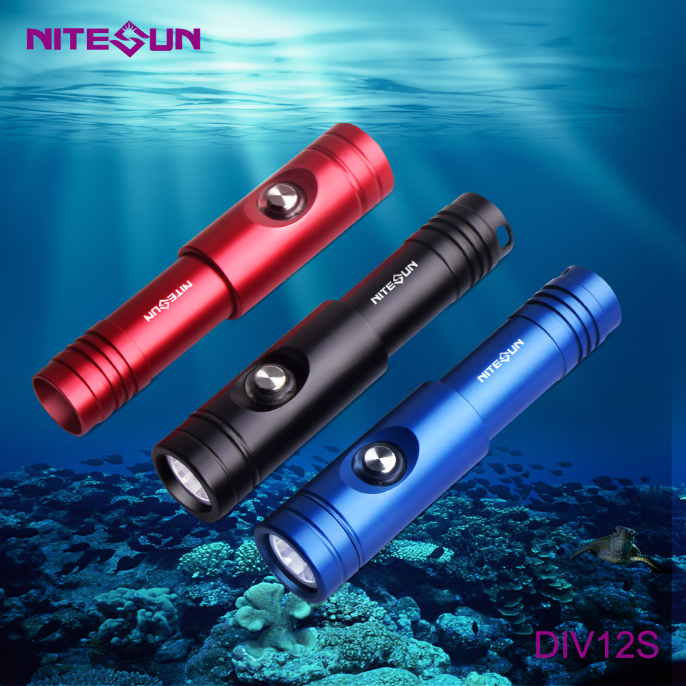 NITESUN DIV12S Diving Flashlight