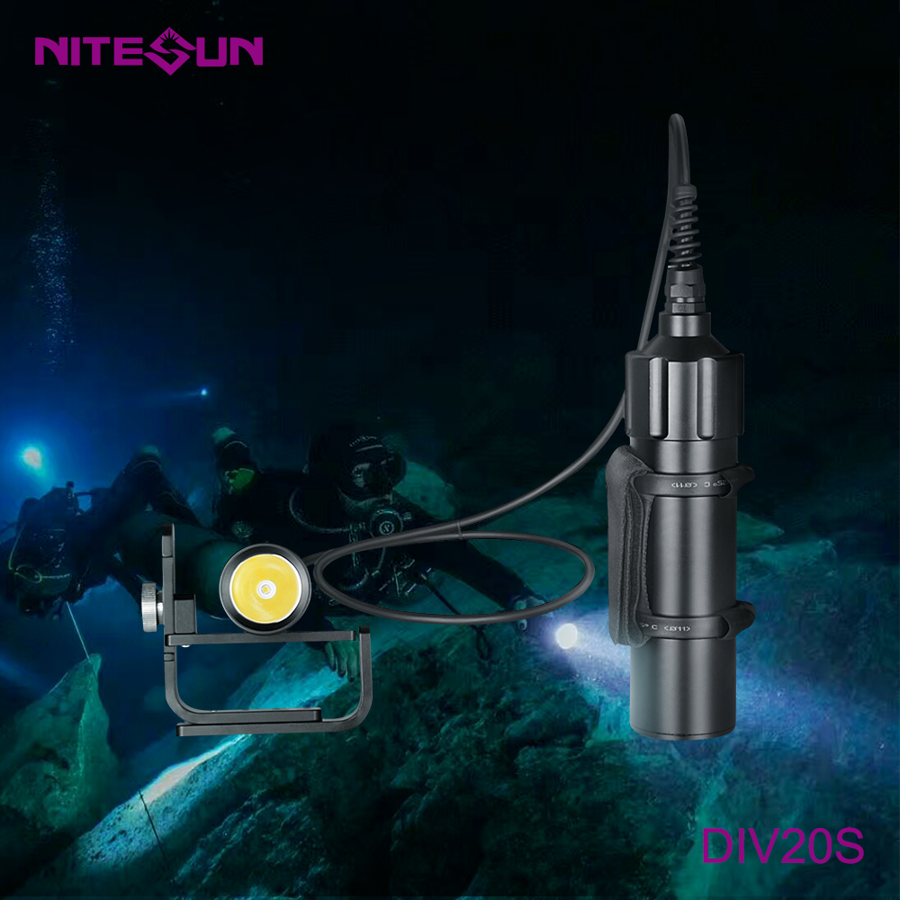 NITESUN DIV20S Scuba Diving Flashlight