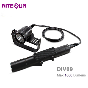 DIV09 Scuba Diving Flashlight