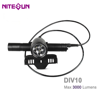 DIV10 Scuba Diving Flashlight