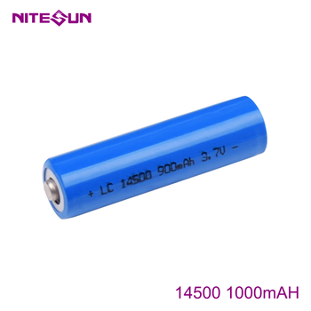 NITESUN 14500 1000mah Rechargeable Li-ion Battery