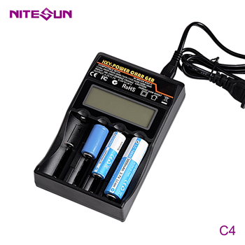 NITESUN C4 Four-slot 18650 Battery Charger